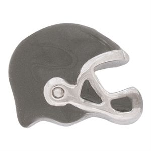 Picture of Grey Football Helmet Charm